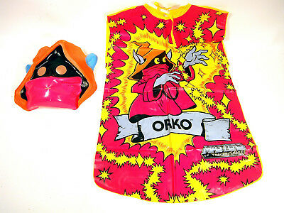 VTG Orko Masters Of The Universe Halloween Costume Mask Ben Cooper Small 4-6