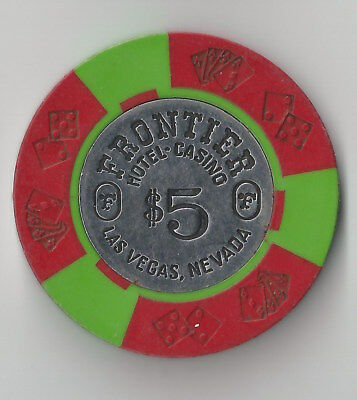 $5 Las Vegas Frontier Hotel 4Th Edt Casino Chip Coin Inlay Rare Closed