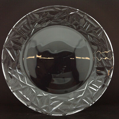 Tiffany Lead Crystal Plate 12 inch Diameter