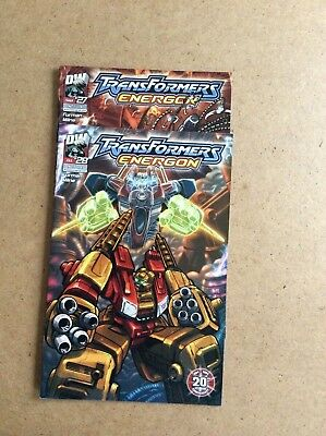2 x TRANSFORMERS ENERGON, 27 AND 28	DREAMWAVE	2004	ref 2.90