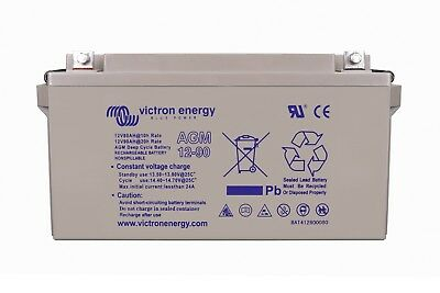 Victron Energy 12V 90Ah AGM Deep Cycle Battery (M6) - BAT412800085