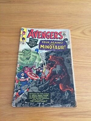 Marvel Comic The Avengers 1965 No.17