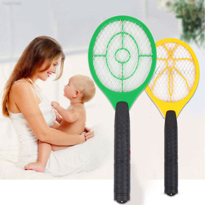 3B69 Electric Anti Mosquito Fly Swatter Bug Zapper Killers Tool Racket For Batte