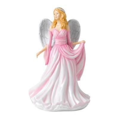 Royal Doulton Watchful Angels Infinite Love Pink Figure 17cm