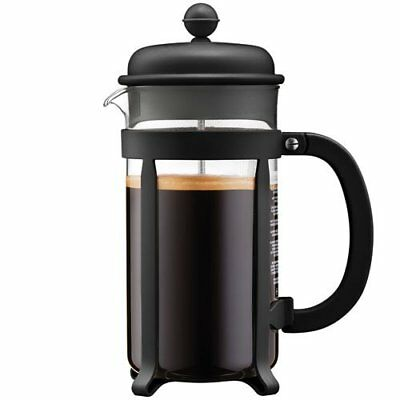 Bodum Java French Press Coffee Maker, 34 Ounce, 1 Liter, 8 Cup, Black