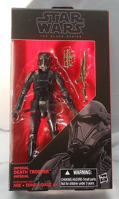Star Wars Black series 6 inch Imperial Death Trooper action figure #25 BRAND NEW