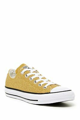 Converse Womens Fashion Sneakers Gold 6  US / 4 UK