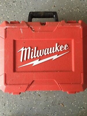 Milwaukee Tool Case Drill Driver  CASE ONLY NO TOOL