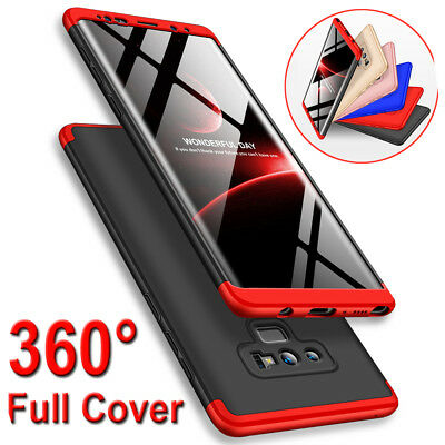 Slim 360° Full Protective Armor Case Cover For Samsung Galaxy Note 9 8/S8 S9 S7+