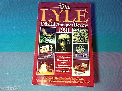 Lyle: The Lyle Official Antiques Review, 1991 by Anthony Curtis (1990) PB G