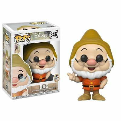 Funko Pop Disney Snow White and the Seven Dwarfs Doc #346 Vinyl Figure NIB