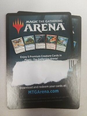 Code only Magic ARENA Gift Pack 2018 Pack MTG RARE Creatures EXCLUSIVE