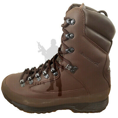 KARRIMOR SF Brown Army Combat Boots GORETEX COLD Wet WEATHER Leather