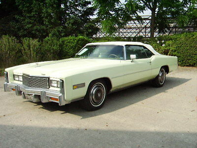 1976 Cadillac Eldorado Eldorado 1976 Cadillac Eldorado Convertible, all original, one-owner, low mileage, mint