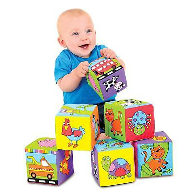 Galt Toys Baby Soft Blocks Colorful Fabric Cubes Kids Toddler Toy Collection