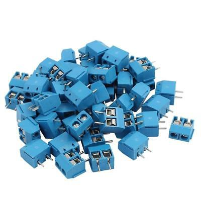 20Pcs KF301-2P 2Pin Plug-in Screw Terminal Block Connector 5.08mm Pitch 300V/16A