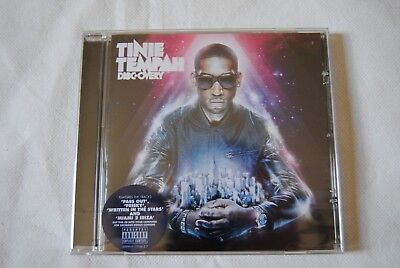Tinie Tempah Disc-Overy Cd New Sealed 2010 Parlophone
