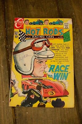 ☆ Charlton Comics Hot Rods And Racing Cars #104 OCT