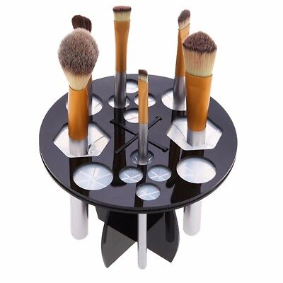 Tower Tree for Makeup & Nail Art Brushes Air Drying Rack R-14 Black Topselling
