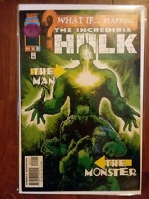 What If (2nd Series) #91 1996 The Incredible Hulk Man & Monster