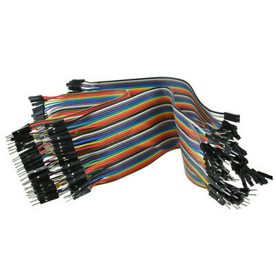120Pcs 20cm Dupont Wire Male to Female Jumper Cable Cord for Arduino Breadboard