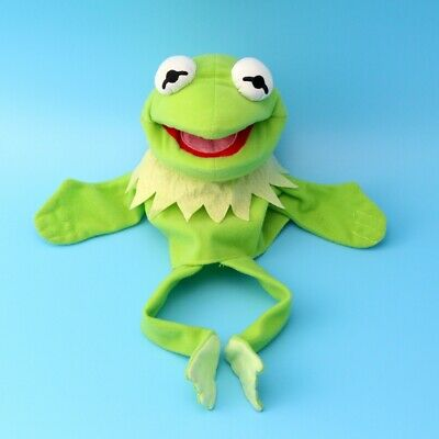 The Muppet Show Kermit the Frog plush puppet Hand Xmas Toy