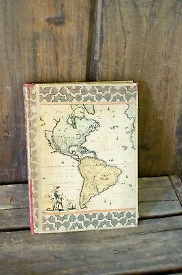 Vintage Hammond's Handy Atlas of the World Book 1933