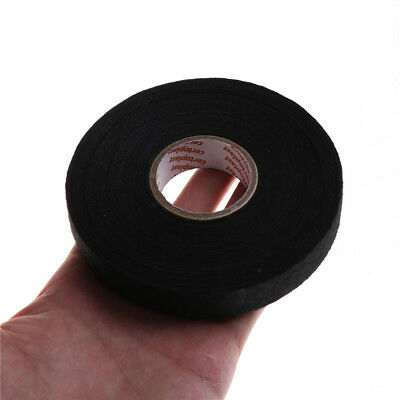 19mmx 25M Adhesive Cloth Fabric Tape Cable Looms Wiring Harness  SS