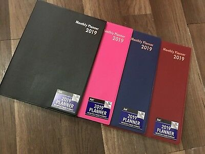 """2019 Monthly Appointment Planner Calendar Day-Timer 10.25"""" x 7.5"""", Select: Color"""