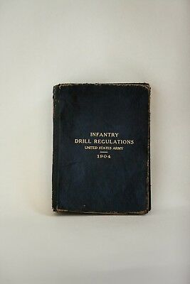 1904 WWI Infantry Drill Regulations Book Manual United States Army (Vintage)