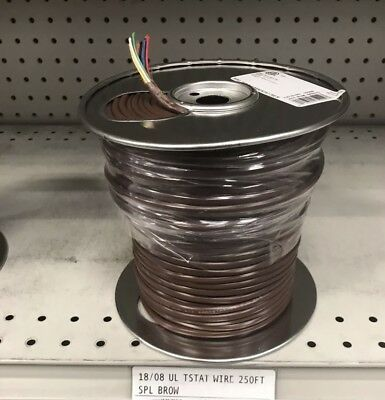 250 Foot Roll Thermostat Wire 18/8 •  Genesis TW-18/8