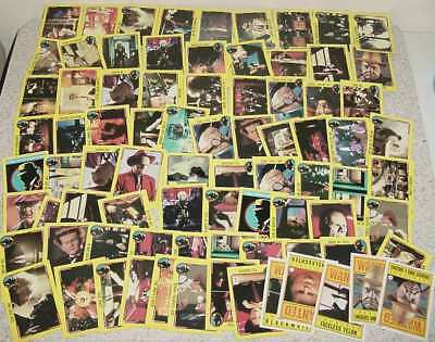 80 1990 Topps Dick Tracy Movie Trading Cards & 5 Stickers Madonna Beatty Pacino