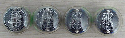ZM1022 Rare Dario nixie tubes for clock. A set of 4 pieces. NOS