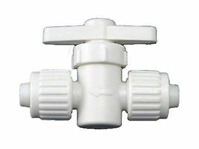 "Elkhart Supply 06880 Flair-it 1/2"" Straight Stop Valve"