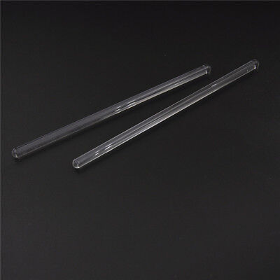 2pcs Lab Use Stir Glass Stirring Rod Laboratory Tool 6*150mm FO