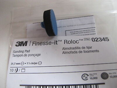 3M 02345 Finesse-it Roloc Sanding Pad Pack of 10