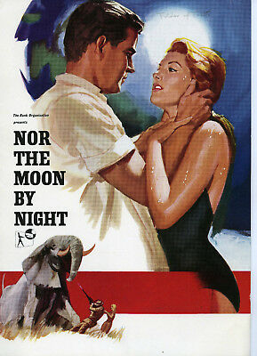 """""""Nor The Moon By Night""""  – 1958 Belinda Lee – Campaign Book"""