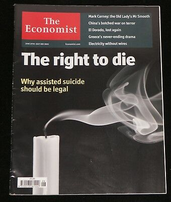 Economist Magazine 2015 June The Right to Die Nek Chand Obituary