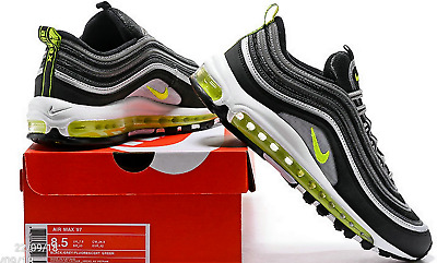 "online store 5acbd f1cce Nike Air Max 97 OG ""Volt"" Black Volt-Metallic Silver-White"