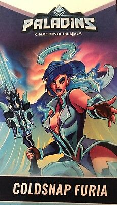 Paladins COLDSNAP FURIA Convention Skin/DreamHack 2018 Collection Code