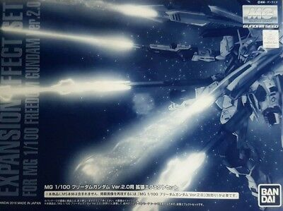 Premium Bandai Mg 1/100 Extended Effects Set For Freedom Gundam Ver 2.0 Can Ship