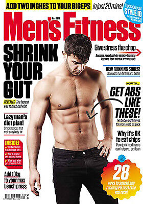 Men's Fitness Magazine May 2018 - Shrink Your Gut