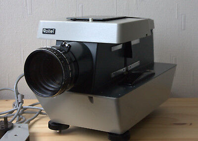 ROLLEI P11 medium / 35mm dual format slide projector Heidosmat zoom lens Superb