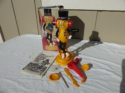 """Vintage """"MR. PEANUT"""" Peanut Butter Maker in Box with Instructions and Acces"""