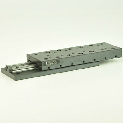 Del Tron 4 inch Travel Crossed Roller Linear Slide/Table, 12 Hole M4