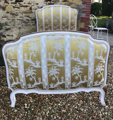 Beautiful Vintage French Louis Xv Style Single Bed