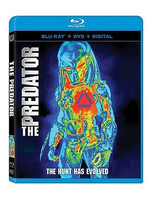 THE PREDATOR (2018)  - Region free - BLU RAY - Sealed