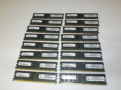 Netapp FAS memory Lot of 16 chips 107-00038 Qmonda