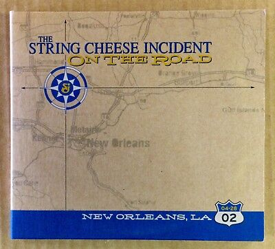 SCI The String Cheese Incident - VG CD - On The Road - Live 3 Disc Set 04/28/02