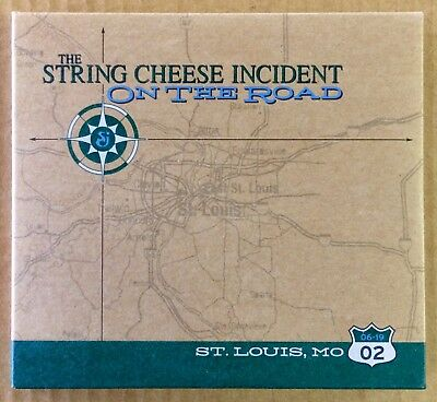 SCI The String Cheese Incident - NM CD - On The Road - Live 3 Disc Set 06/19/02